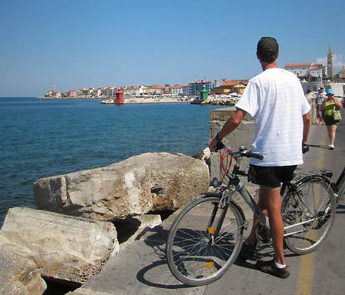 On the Piran waterfront