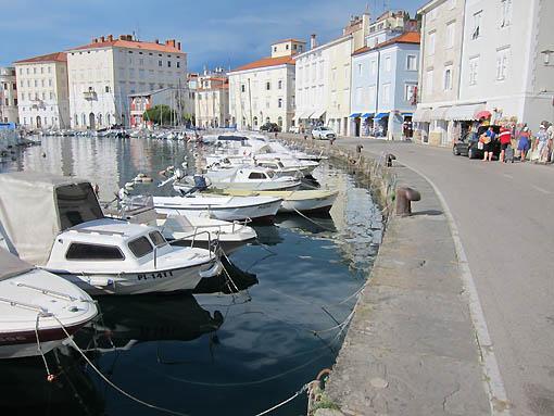Piran waterfront