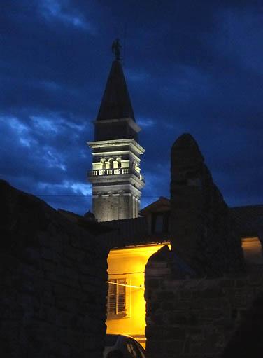 Beautiful St. John's church at dusk