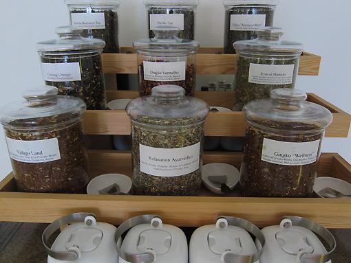 Selection of teas