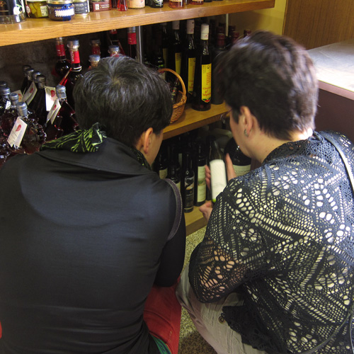 Choosing the olive oil