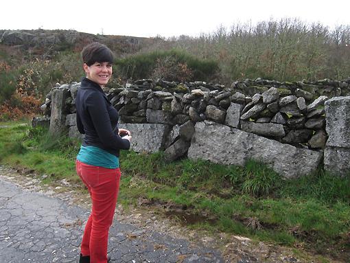 Love the rock walls