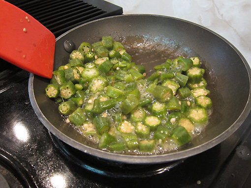 Just fry some more okra!