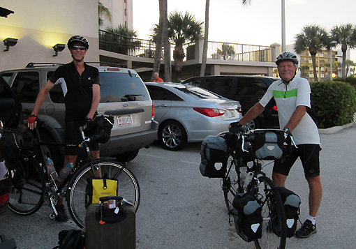 Rich and Jack are itchin' to ride.