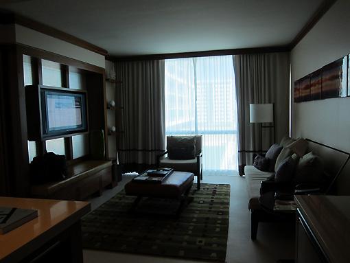 Beautiful loving room with ocean view