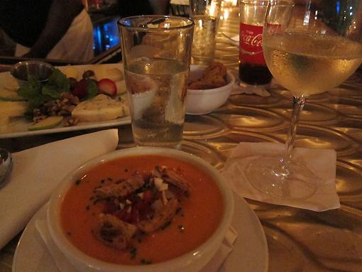 Gazpacho is outstanding!