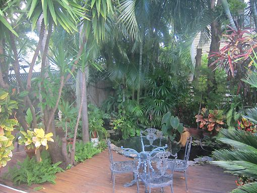 garden at Douglas House