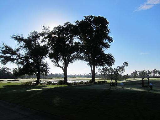 Beautiful morning at The Preserve