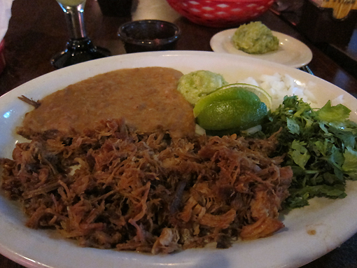 Great carnitas!