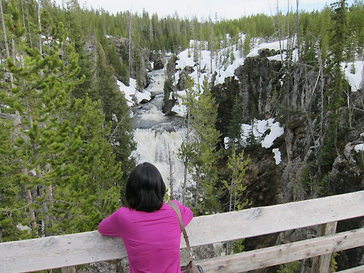 """Kepler Cascades - where we heard a tourist loudly exclaim """"If you didn't do your research (which we didn't) you would NEVER stop here. You would pass right by"""""""