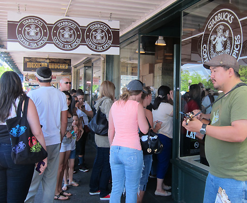 This is the Original Starbucks