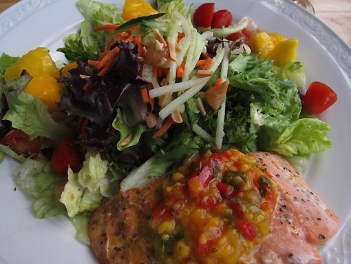 Salmon/Mango Salad