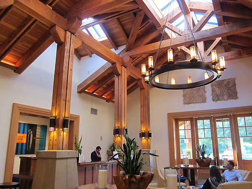 Lobby at Corde Valle