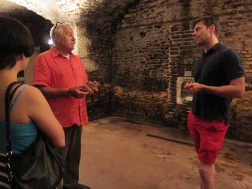 Down in the cellar with Charles