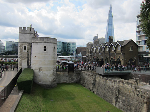 """The tall building in the background is """"The Shard."""""""