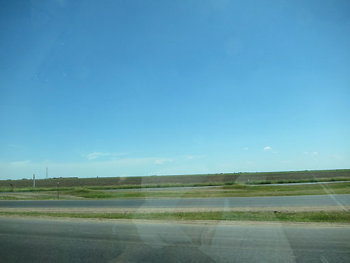 Most of the scenery through Texas