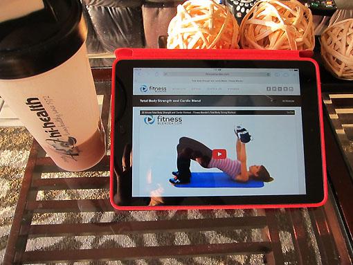 Fitness Blender workout