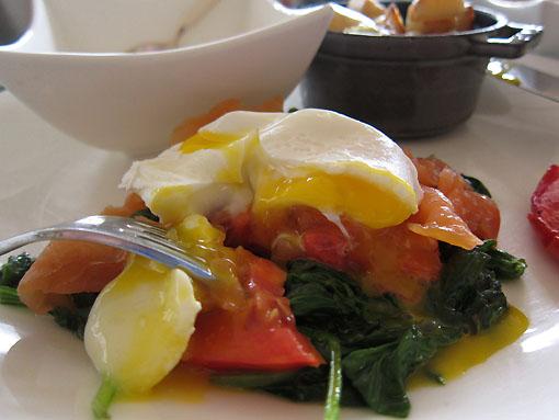 My own version of Eggs Benedict