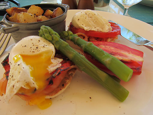 They know how to do poached eggs right! I will certainly miss this.