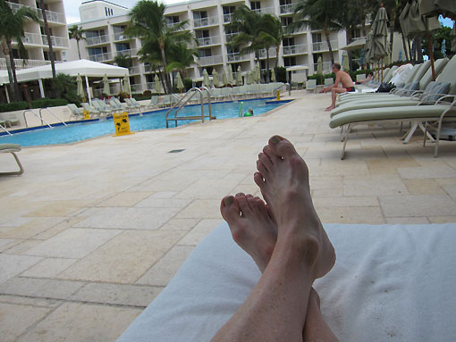Ahh - this is the way to blog.