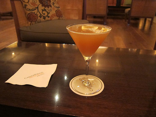 The Perfect Ten (Vanilla vodka, pineapple juice, prosecco) Yum!