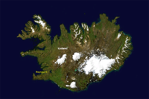 Iceland-from-space